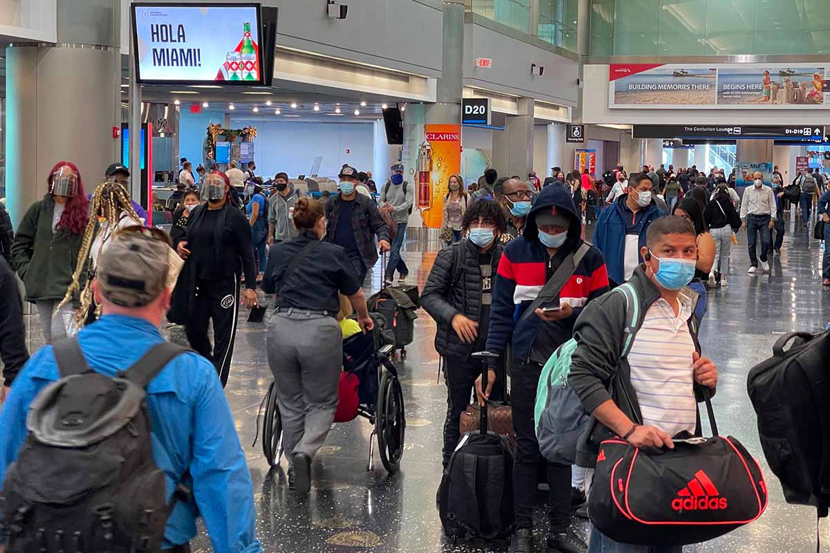 new travel rules for travelers entering U.S.