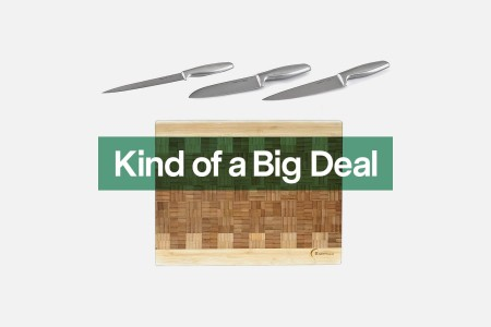 BergHOFF cutlery and cutting boards on sale