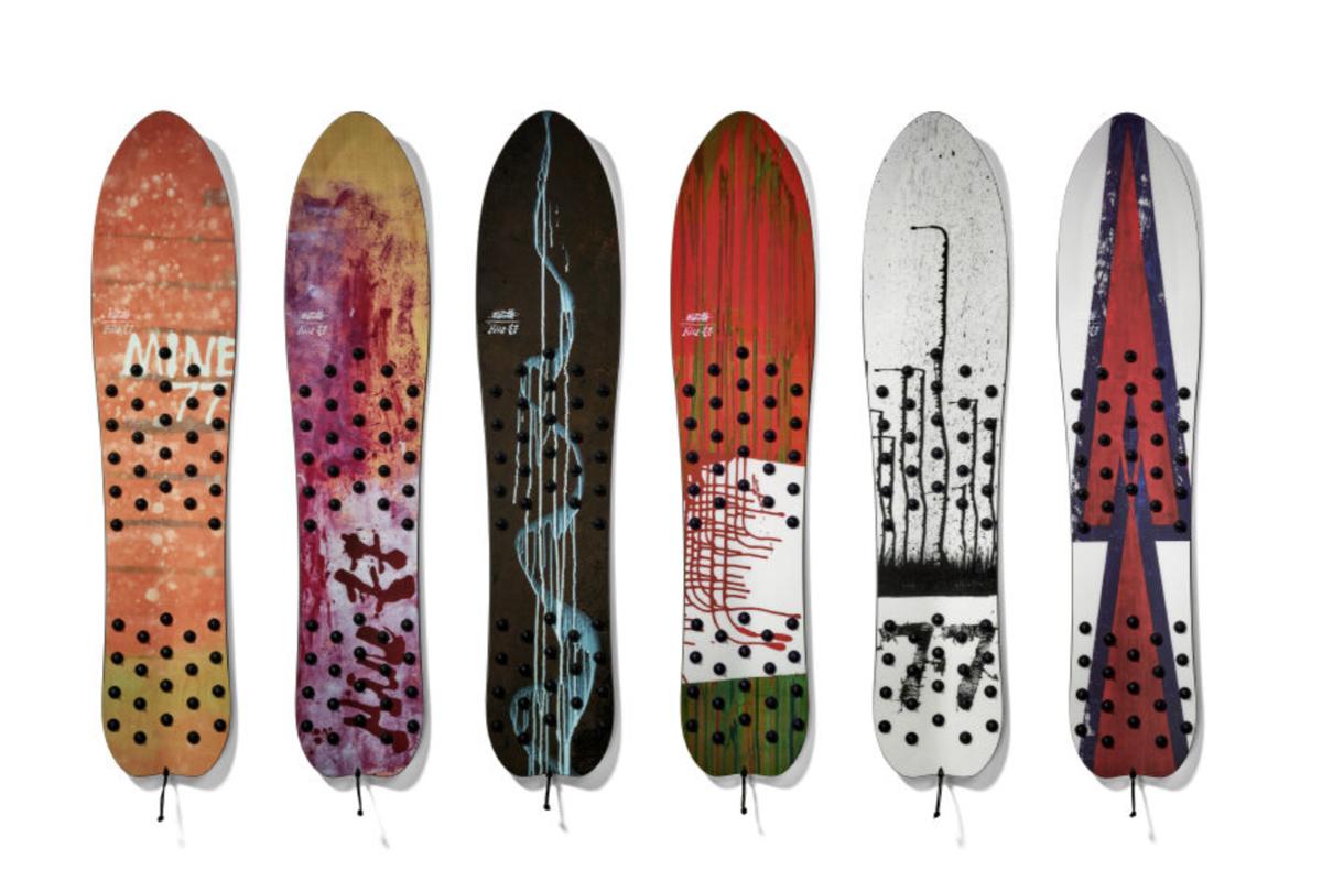 Buron MINE77 blotto surf snowboard