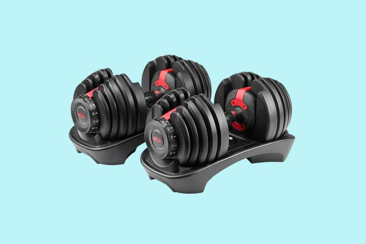 Bowflex SelectTech 552 Dumbbells on sale