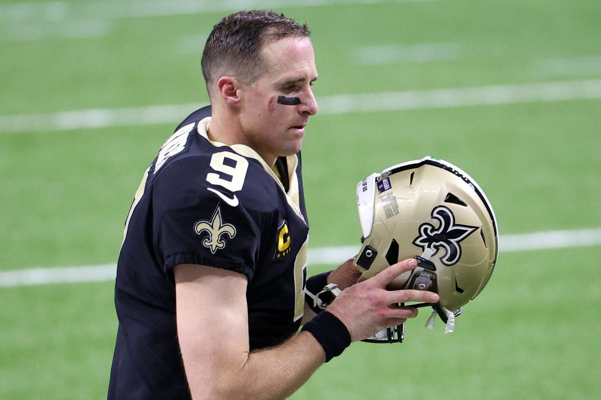 Wife: Drew Brees Played 2020 Season for Saints With Serious Foot and Shoulder Injuries