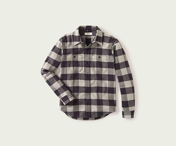 Buck Mason Blanket Flannel Two Pocket Overshirt