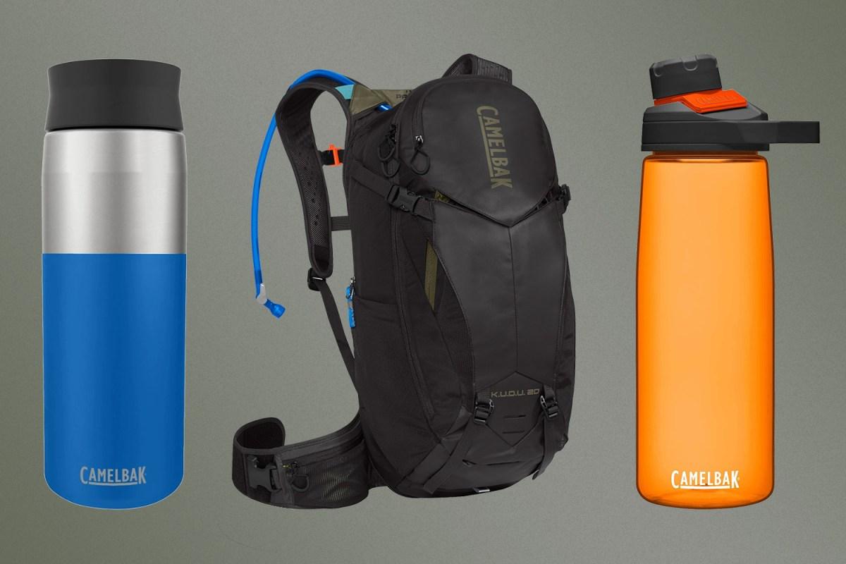 CamelBak hydration packs and bottles