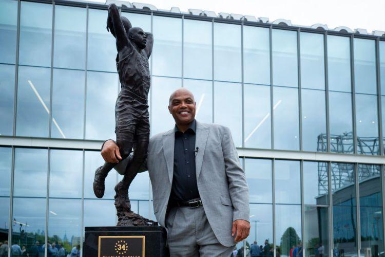 Philadelphia 76ers Unveil Charles Barkley Sculpture