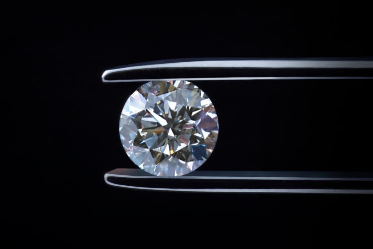 diamond up close