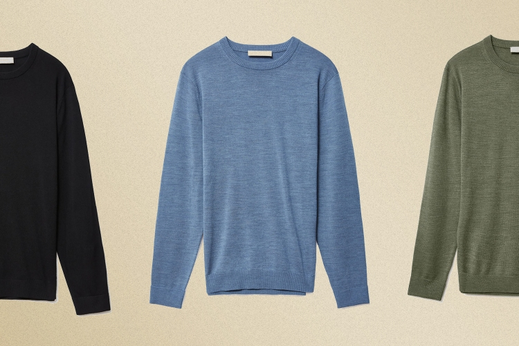 Everlane Easy Merino Crew Sweater