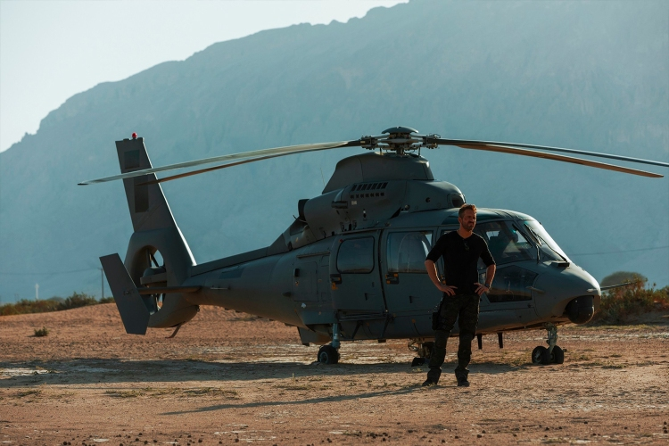What It's Like to Fly a Stunt Helicopter for Michael Bay