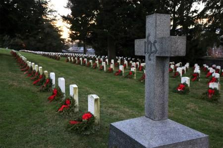 Gettysburg National Cemetery graves