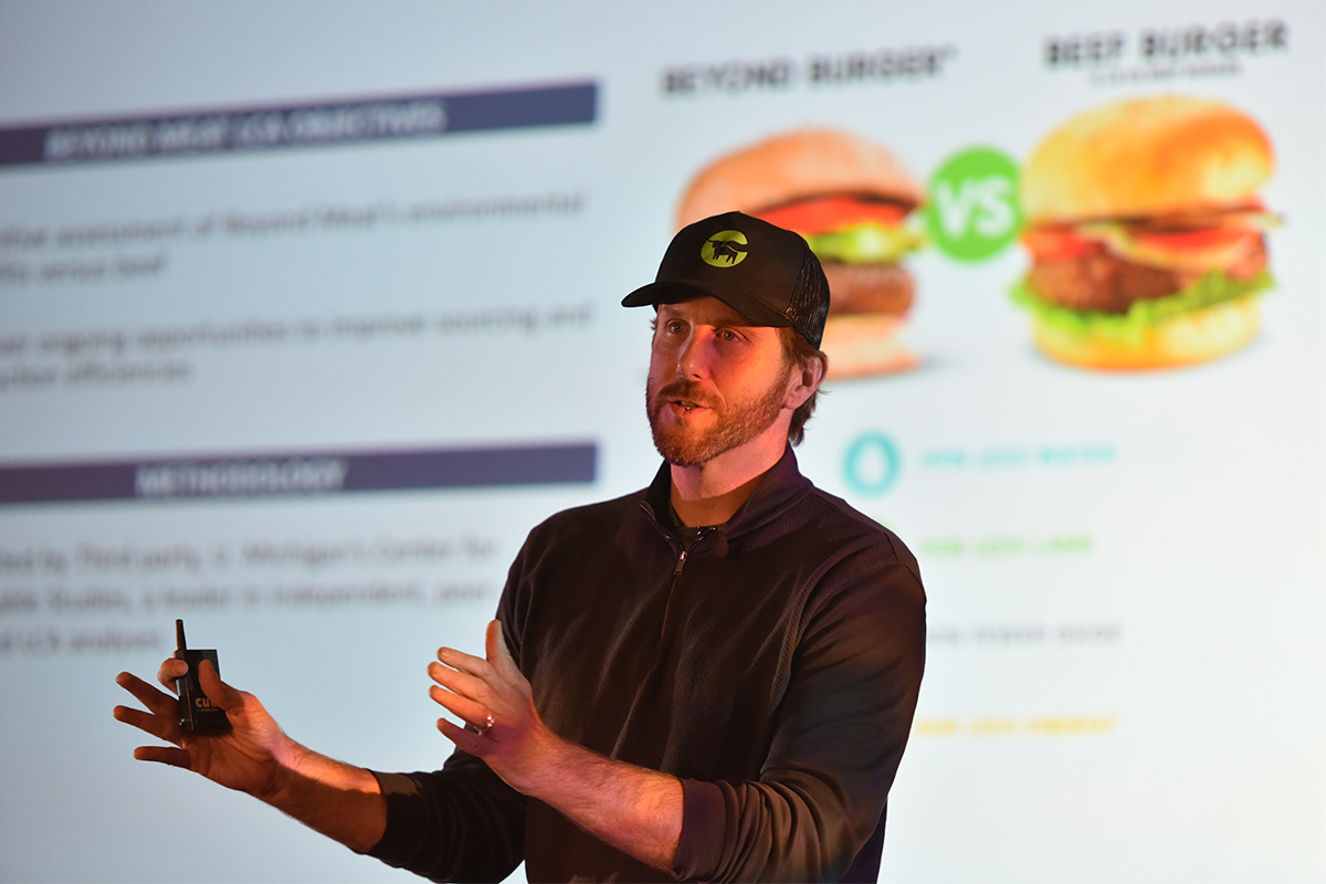 ethan brown beyond meat ceo
