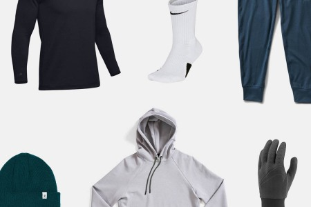 best cold running gear