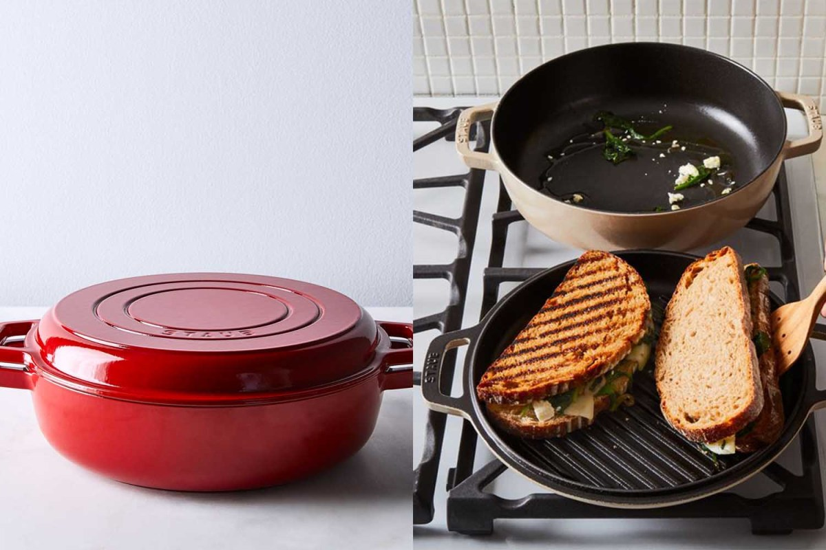 Deal: This Staub 2-in-1 Grill Pan & Cocotte Is $230 Off