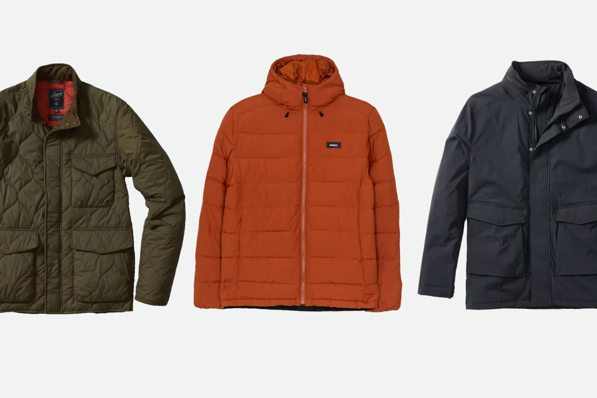 Huckberry outerwear sale
