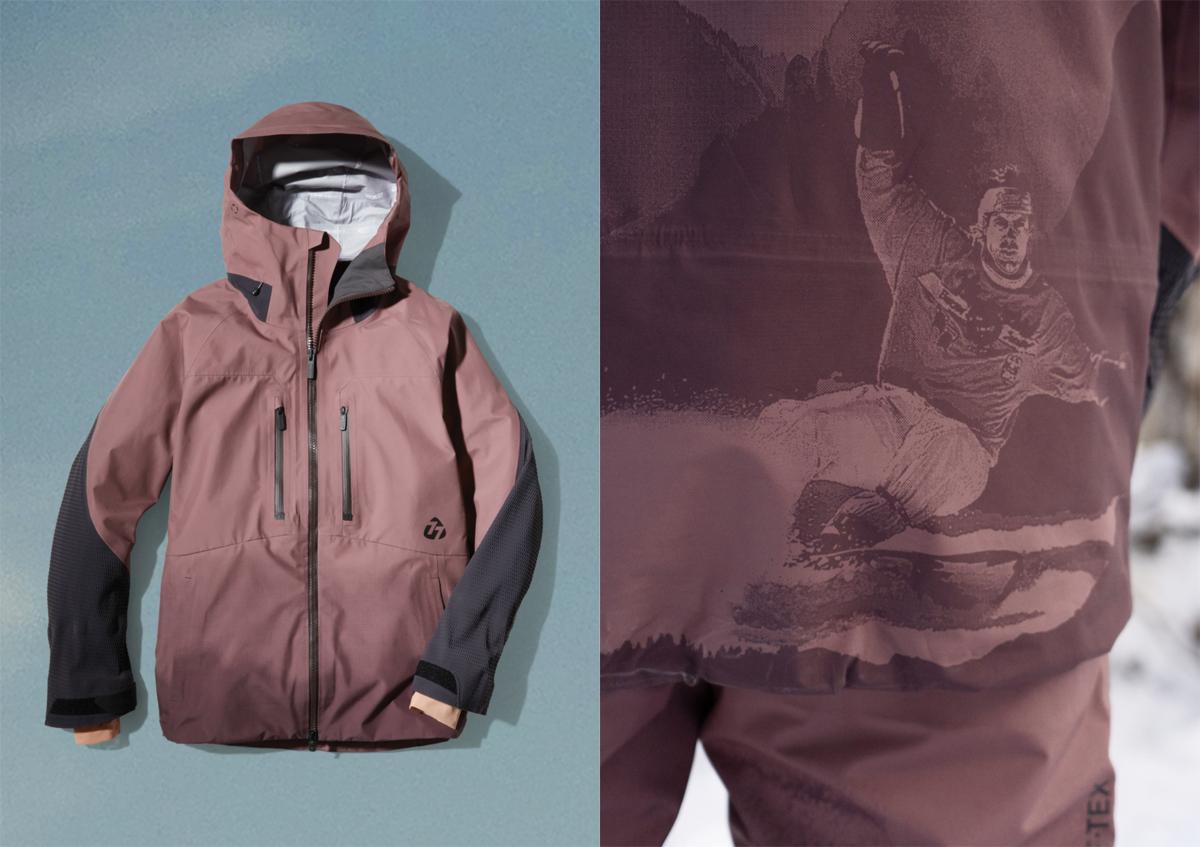 burton mine77 topo gore-tex jacket