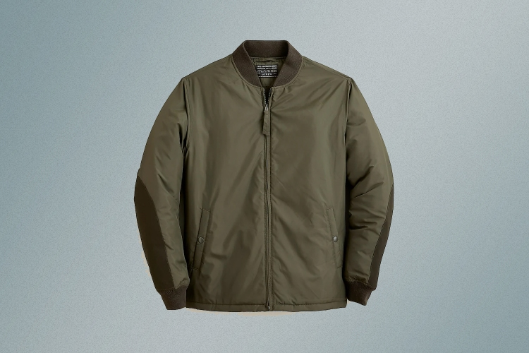 J.Crew men's bomber jacket