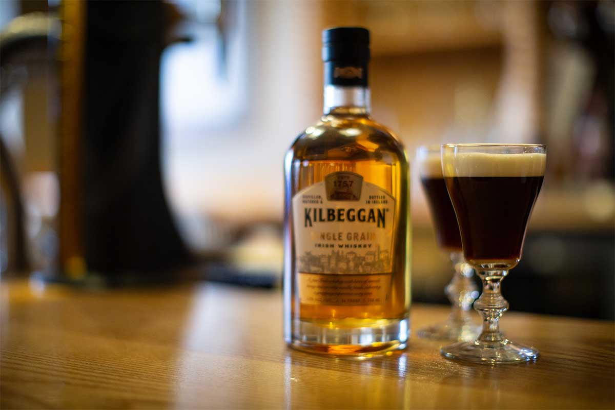 Kilbeggan irish coffee