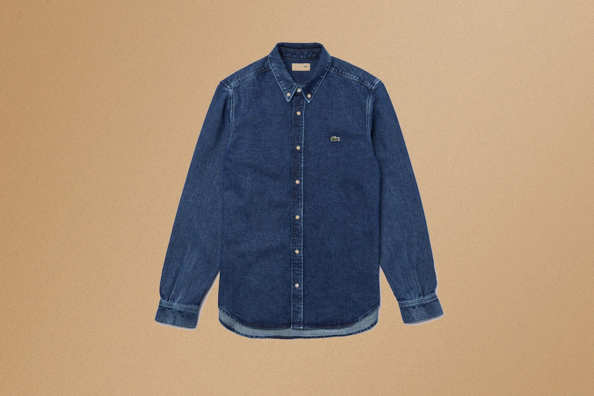 Deal: This Classic Lacoste Denim Shirt Is 50% Off