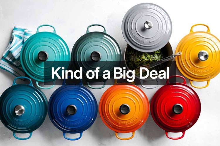 Le Creuset on sale