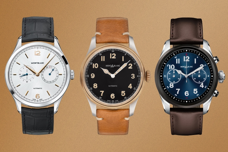 Montblanc watches on sale at Mr Porter