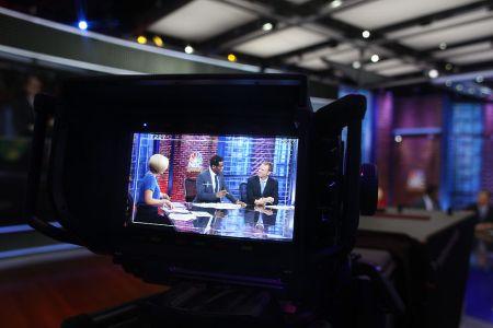 NBC Sports Network studios covering the English Premier League