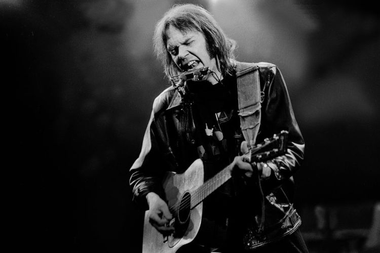 Neil Young Performs At Farm Aid