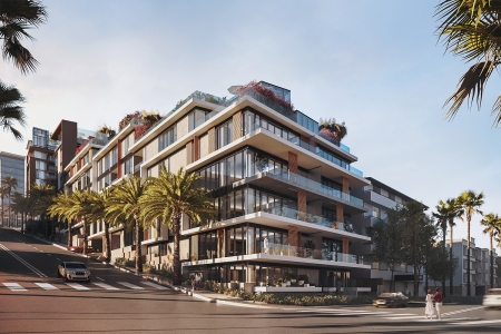 In LA, A Hotel-Condo Hybrid Presages the Future of Urban Luxury Living