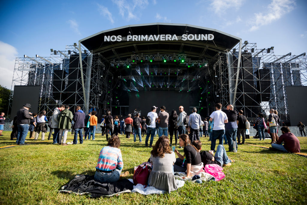 A view of the main stage of the NOS Primavera Sound Festival