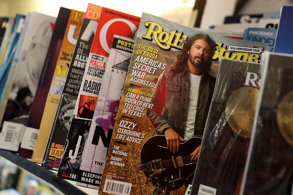 Rolling Stone on the newsstands
