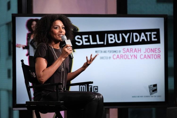 Sarah Jones play sell/buy/date