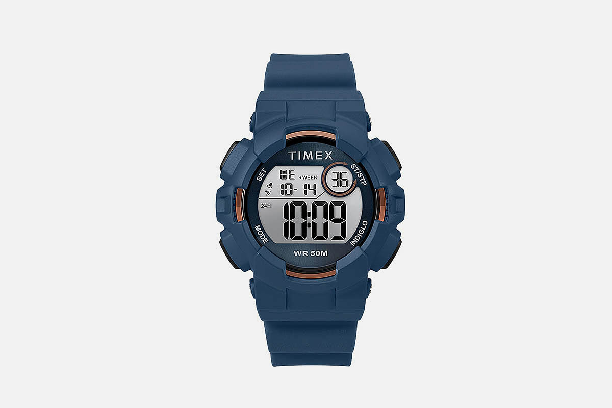 Timex Mako DGTL™ 44MM Silicone Strap Digital Watch
