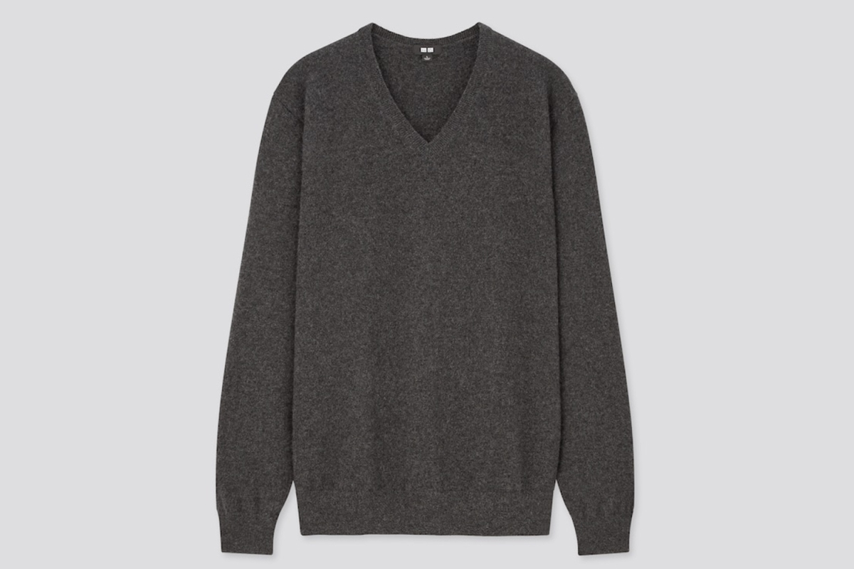 Deal: This Uniqlo Cashmere Sweater Is Just $50