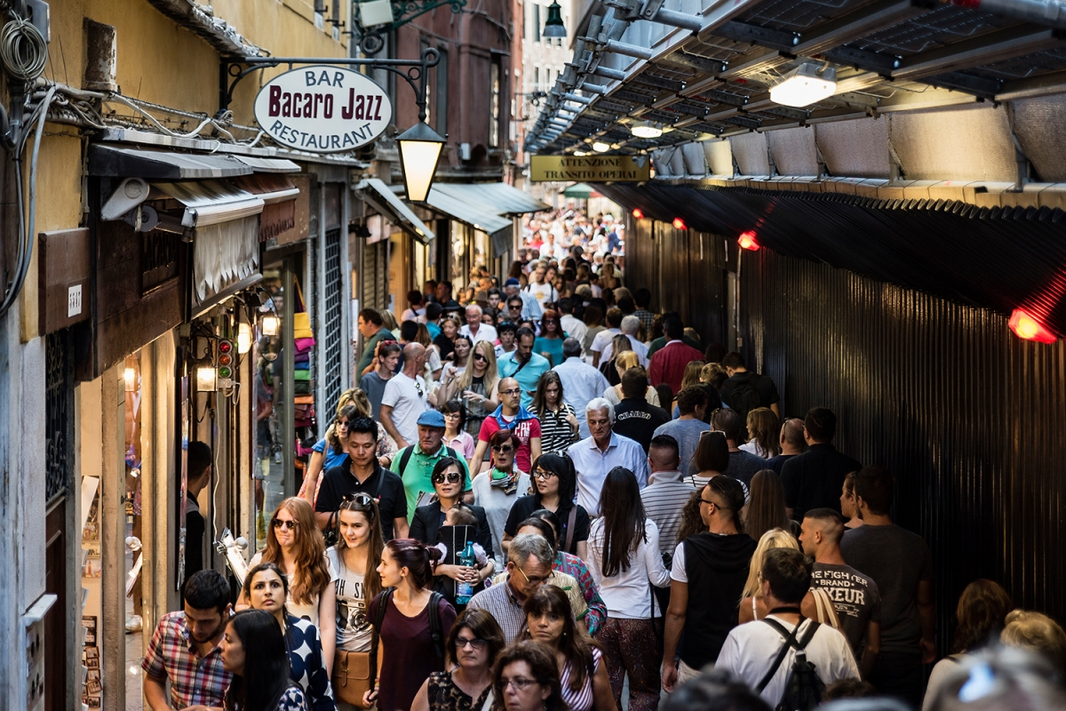 Venice Has Gone Full Big Brother to Combat Its Tourism Problem
