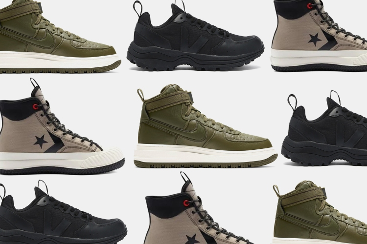 8 Winterized Sneakers That Can Handle the Season's Worst Conditions — And Look Good Doing It