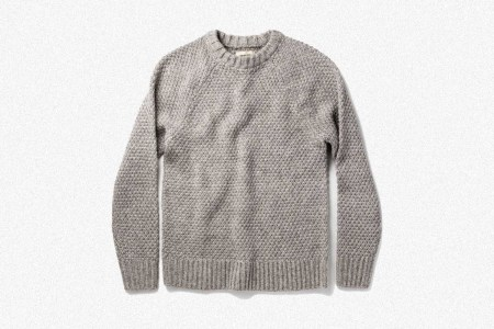 Deal: It's Your Last Chance to Snag This Discounted Taylor Stitch Fisherman Sweater