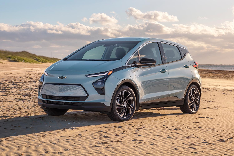 redesigned 2022 Chevrolet Bolt EV