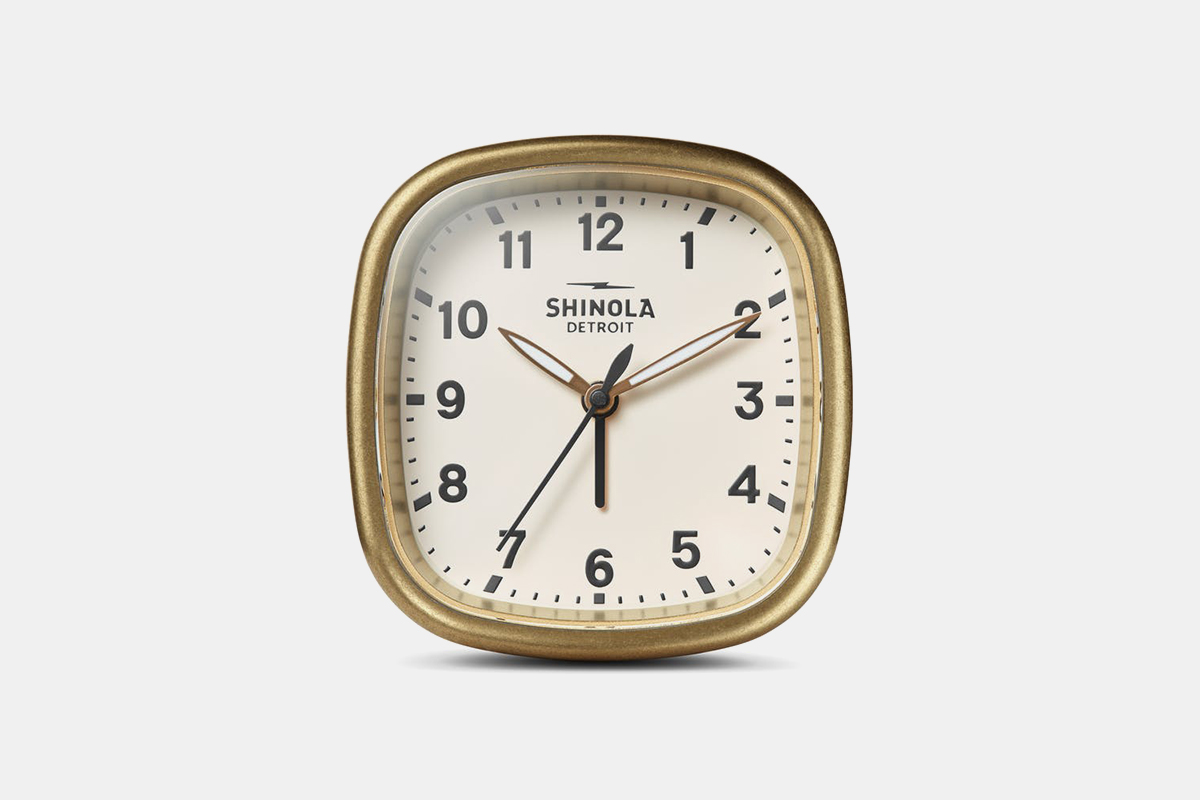 shinola alarm clock