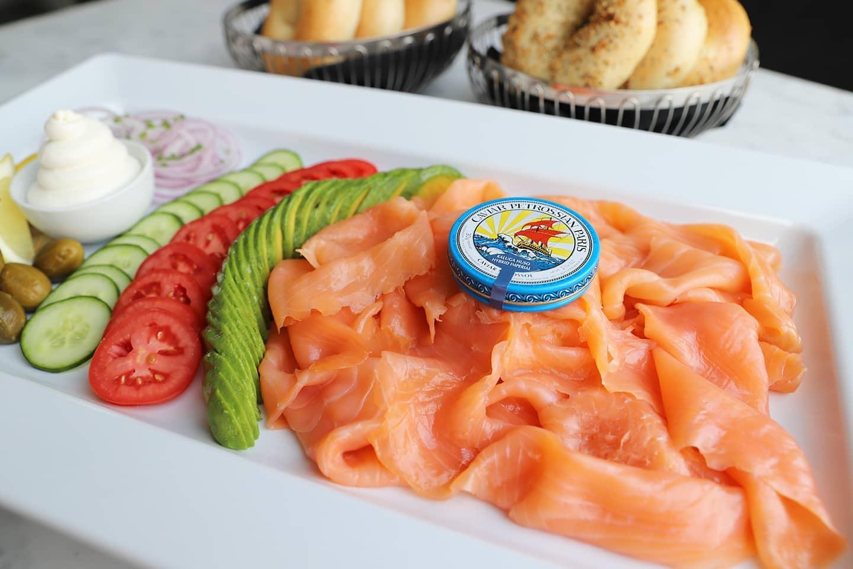 petrossian smoked salmon