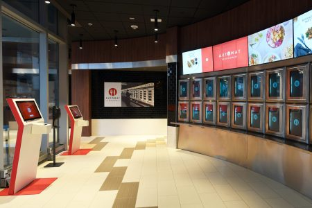 Inside the country's old Automat in Jersey City.