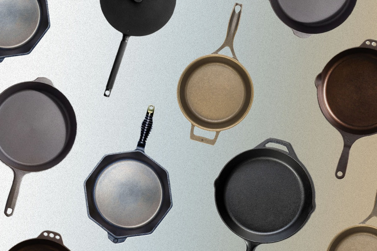 The best cast-iron skillets and pans