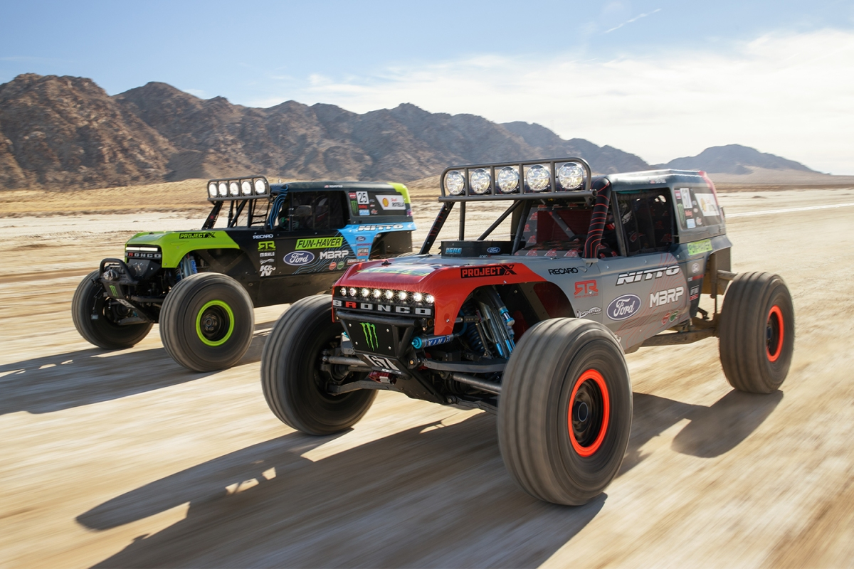 Ford Bronco at King of the Hammers