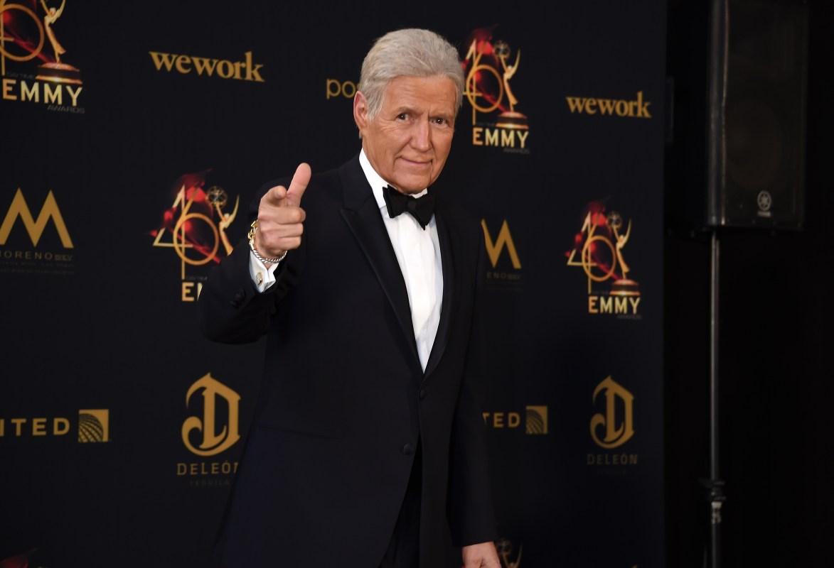 alex trebek Daytime Emmys