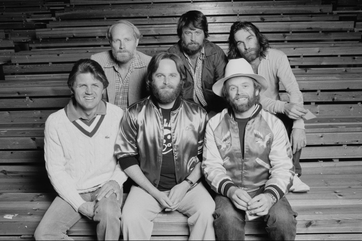 The Beach Boys in 1982