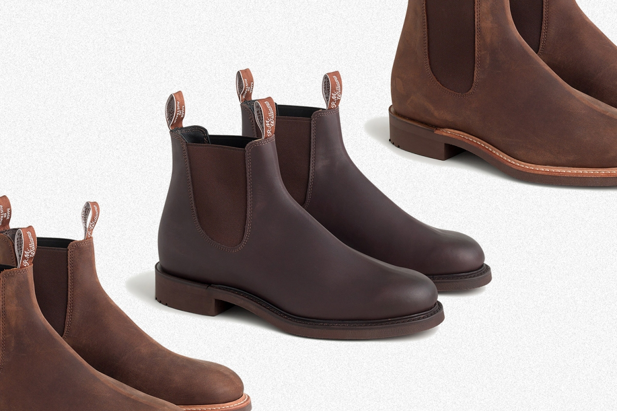 J.Crew R.M. Williams Gifford boots