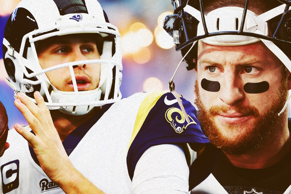 Jared Goff and Carson Wentz have had eerily similar careers thus far.