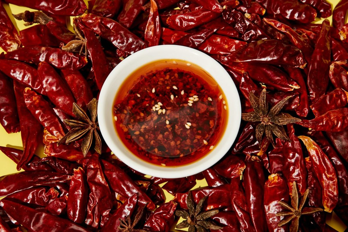 Chili Crisp is a spicy condiment you can make at home.