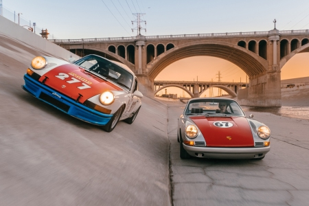 Magnus Walker Porsche 277 in the LA River