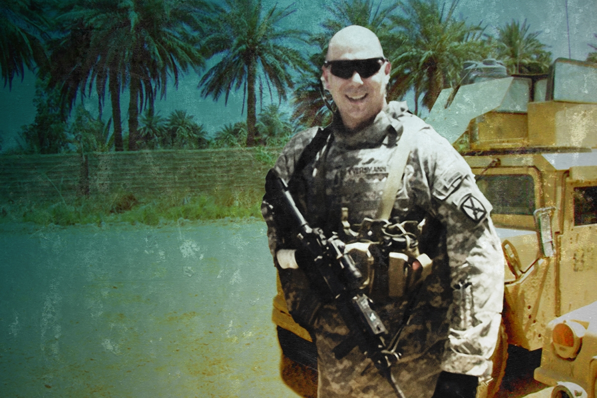 """How the Army Ranger From """"Black Hawk Down"""" Is Helping Other Veterans Tell Their War Stories"""