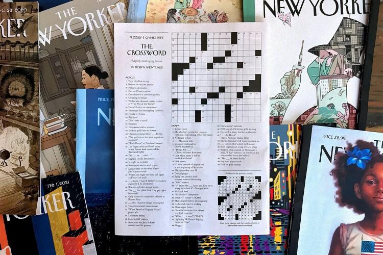 The New Yorker crossword