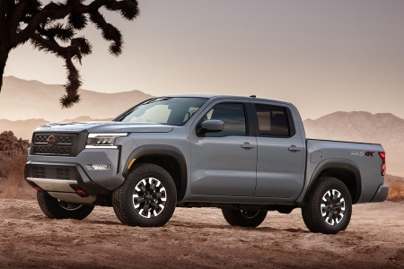 new Nissan Frontier pickup