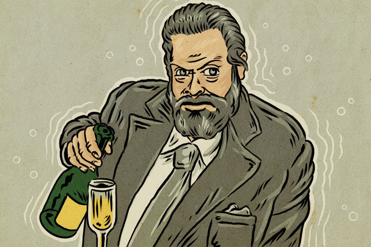 How Orson Welles Became the Most Infamous Pitchman in Booze History