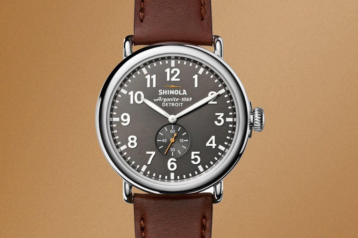 Shinola men's Runwell watch 47mm